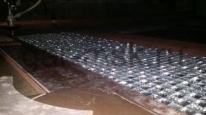 подготовка к раскрою мозайки на станке гидроабразивной резки