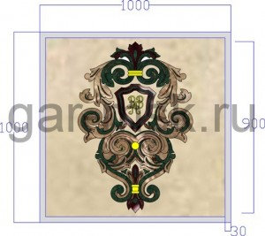 визуализация семейного герба